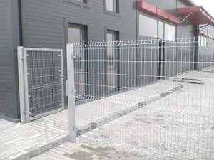 Ipari táblás kerítés