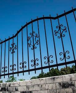 Díszíthető kerítés